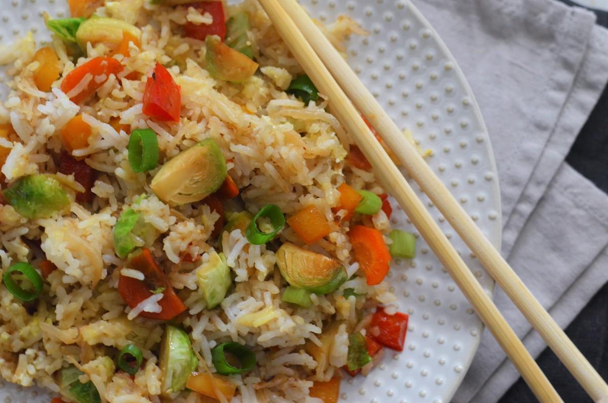 Mein Lieblingswinter: Gebratener Reis mit Gemüse